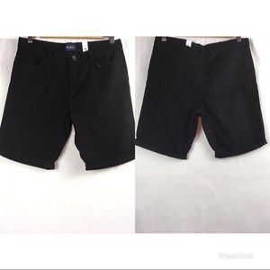 The children place girls shorts